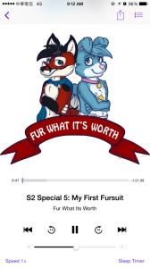 Fur What It's Worth 廣播劇播放畫面